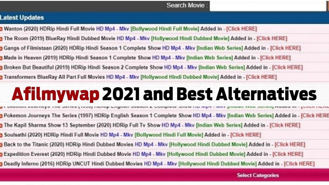 afilmywap 2020 and Best Alternatives- Download latest HD mp4 movies online  - Movie Anchor