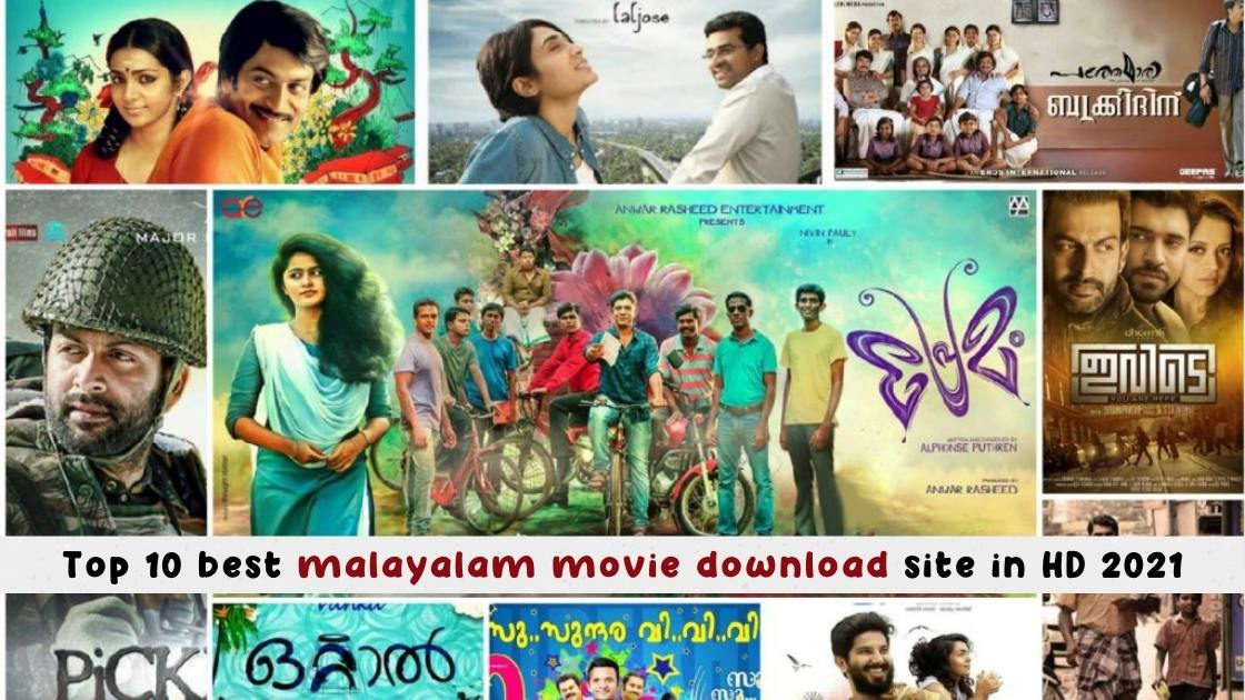 Top 10 best malayalam movie download site in HD 2021