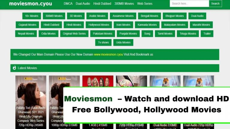 Moviesmon 2021 – Watch and download HD Free Bollywood, Hollywood Movies